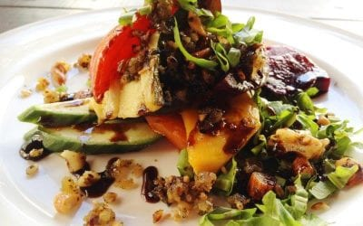 Tory's Veggie Stack with Nut Mince