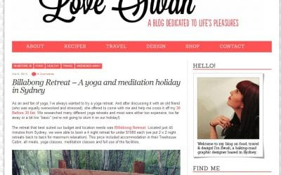 Billabong Retreat – A yoga and meditation holiday in Sydney by Love Swah Blog