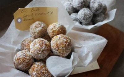 Apricot, Coconut & Almond Meal Bliss Balls
