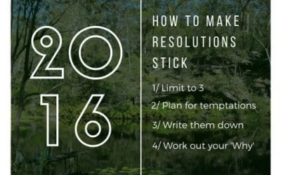 How to Make New Year Intentions Stick