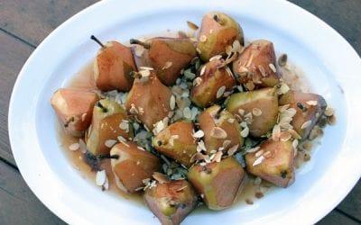 Stewed Organic Pears