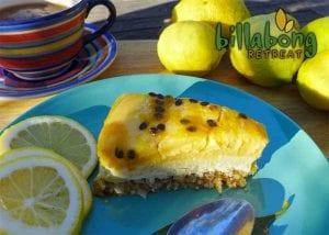 Easy Lemon Curd Cheese Cake