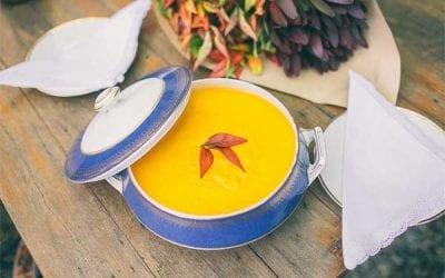 Lemon & Spice Carrot Soup