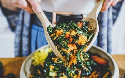 Massaged Kale and Carrot Salad