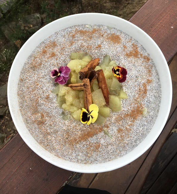 Apple & Cinnamon Chia Porridge