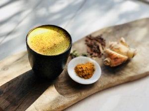Golden-Spiced Coconut Chai Elixir