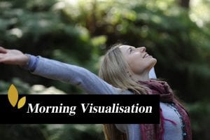 Visualise your day meditation