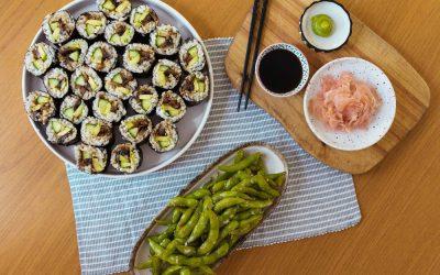 Protected: Teriyaki Mushroom Sushi