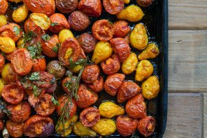 Aromatic Semidried Baby Tomatoes